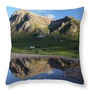 Stob Dearg Throw Pillow
