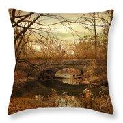 Stone Bridge  Throw Pillow