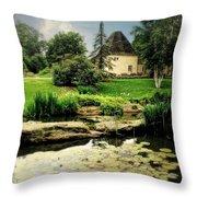 Stone Crop Gardens Throw Pillow
