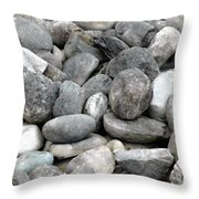 Stonescape Throw Pillow