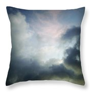 Storm Clouds Throw Pillow