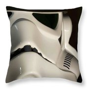 Stormtrooper Helmet Throw Pillow