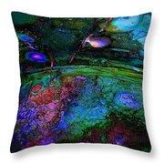 Strange Dream Throw Pillow