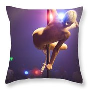 Strippers Club  Throw Pillow