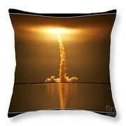 Sts-123 Endeavour Throw Pillow