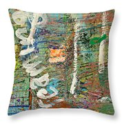 Studio Wall Series Untitled Throw Pillow