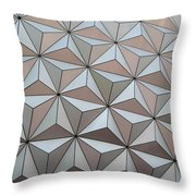 Sub Triangles Throw Pillow