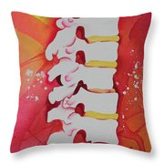 Subluxation Throw Pillow