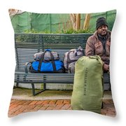 Such A Long Journey Throw Pillow