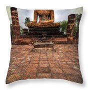 Sukhothai Buddha Throw Pillow