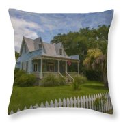 Sullivan's Island House Throw Pillow