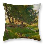Summer Near Beaupre Throw Pillow