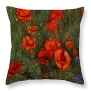 Summer Wind Throw Pillow