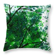 Summertime 4 Throw Pillow