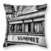 Summit Diner Throw Pillow