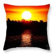 Sun 3 Throw Pillow