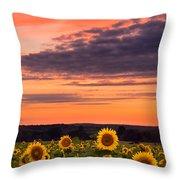 Sun Over Sun Throw Pillow