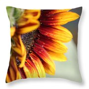 Sunflower Named The Joker Throw Pillow