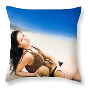Sunlight Serenity Throw Pillow