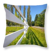 Sunny Pasture Throw Pillow