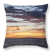 Sunrise Over The Sea Of Cortez Throw Pillow