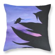 Sunset Arrives Throw Pillow