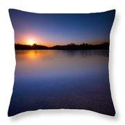 Sunset Creek Throw Pillow