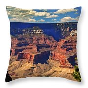 Sunset Grand Canyon Throw Pillow