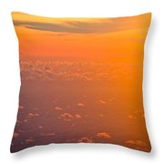 Sunset In The Sky Throw Pillow
