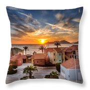 Sunset Throw Pillow by Ivelin Donchev
