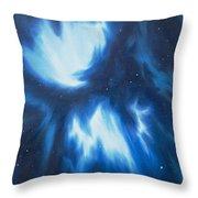 Supernova Explosion Throw Pillow