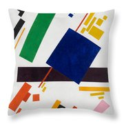 Suprematist Composition Throw Pillow