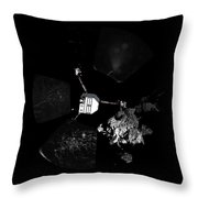 Surface Of Comet 67pc-g, Panoramic View Throw Pillow
