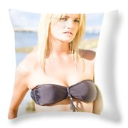Surfing Leisure And Recreation Throw Pillow