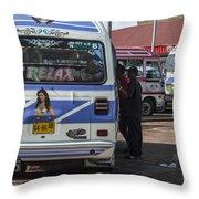 Surinam Paramaribo Throw Pillow