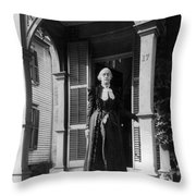 Susan B Throw Pillow