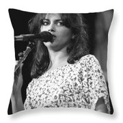 Susanna Hoffs Throw Pillow