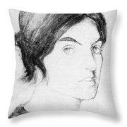 Suzanne Valadon (1865-1938) Throw Pillow