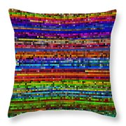 Swatcher 1 Throw Pillow