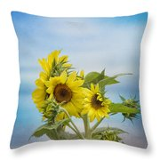 Swaying In The Breeze 2 Throw Pillow