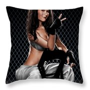 Swifty Throw Pillow