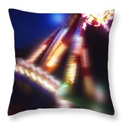 Swing Boat Throw Pillow