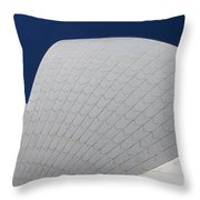 Sydney Opera House Roof Tiles Throw Pillow