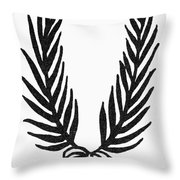 Symbol Achievement Throw Pillow