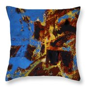 Symphony No. 8 Movement 20 Vladimir Vlahovic- Images Inspired By The Music Of Gustav Mahler Throw Pillow