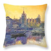 Szczecin - Poland Throw Pillow