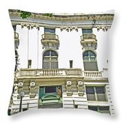 Tacoma Elks Club Throw Pillow