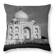 Taj Mahal - India  Throw Pillow