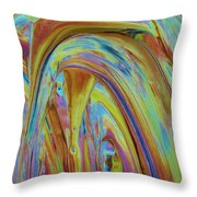 Taken Throw Pillow