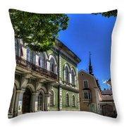 Tallin - Estonia Throw Pillow